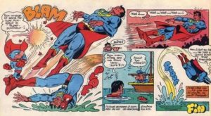 Supermatou contre Superman