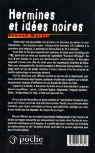 Hermines et idées noires : quatrième de couverture