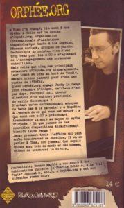 Orphée.org : quatrième de couverture